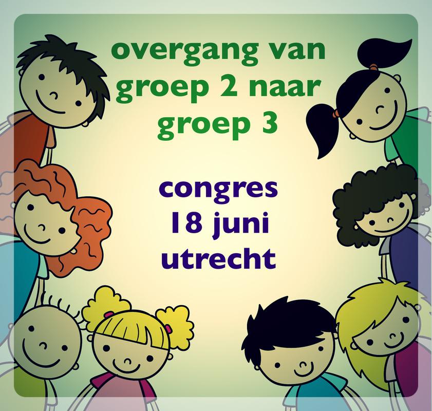 18 juni congres Medilex onderwijs: De overgang van groep 2 naar groep 3