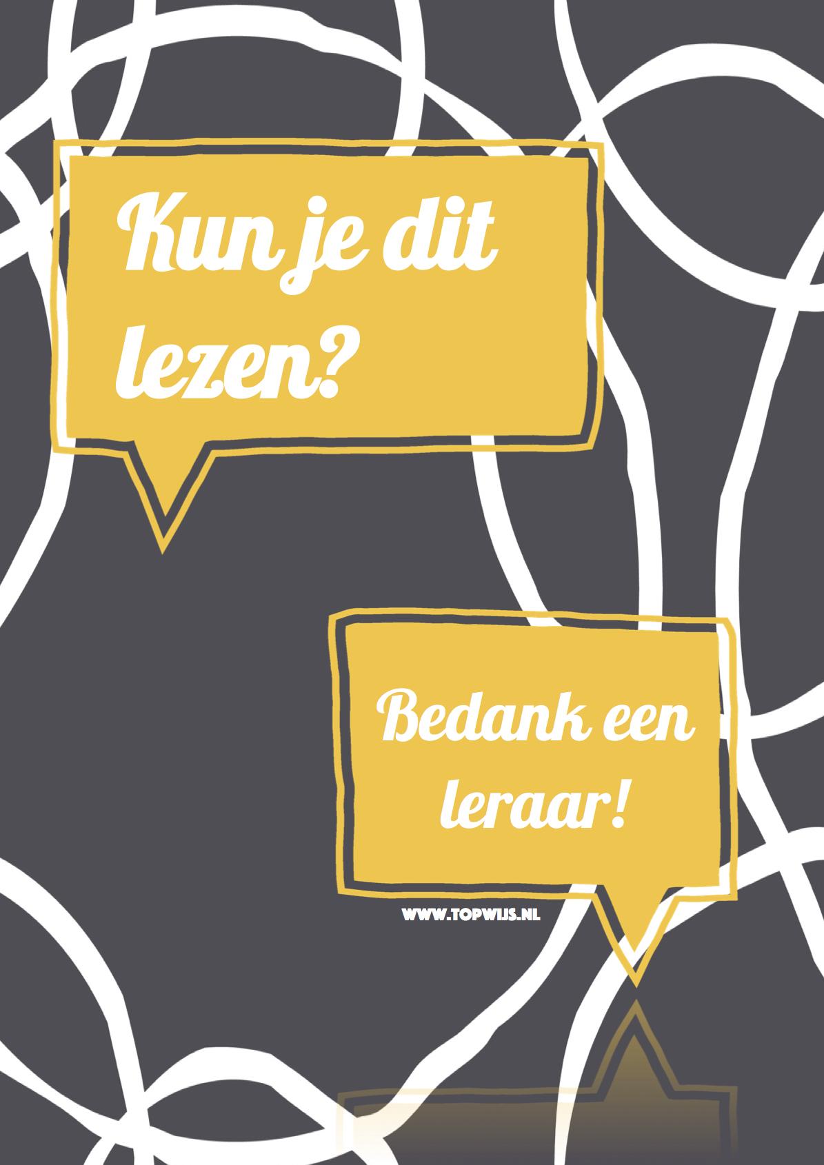 kun je dit lezen? www.topwijs.nl