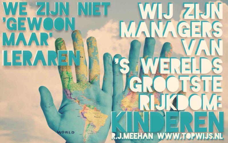Wij zijn managers van 's werelds grootste rijkdom: Kinderen