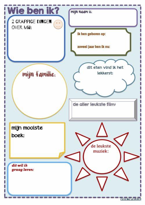 Download de startactiviteit: Wie ben ik? Een activiteit om klasgenoten te leren kennen in de eerste weken van het schooljaar.