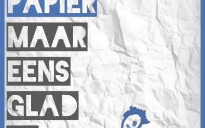 Pesten en het verkreukeld papier