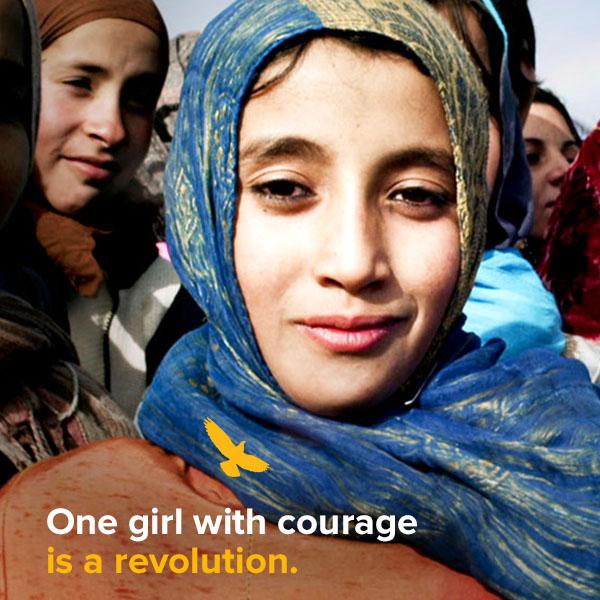 Op 5 maart 2017 vindt een bijzondere vertoning plaats van de film 'Girl Rising' in Theater Amsterdam. De opbrengst van de kaartverkoop gaat naar de gelijknamige organisatie, die over de hele wereld campagne voert om meer meisjes naar school te krijgen.