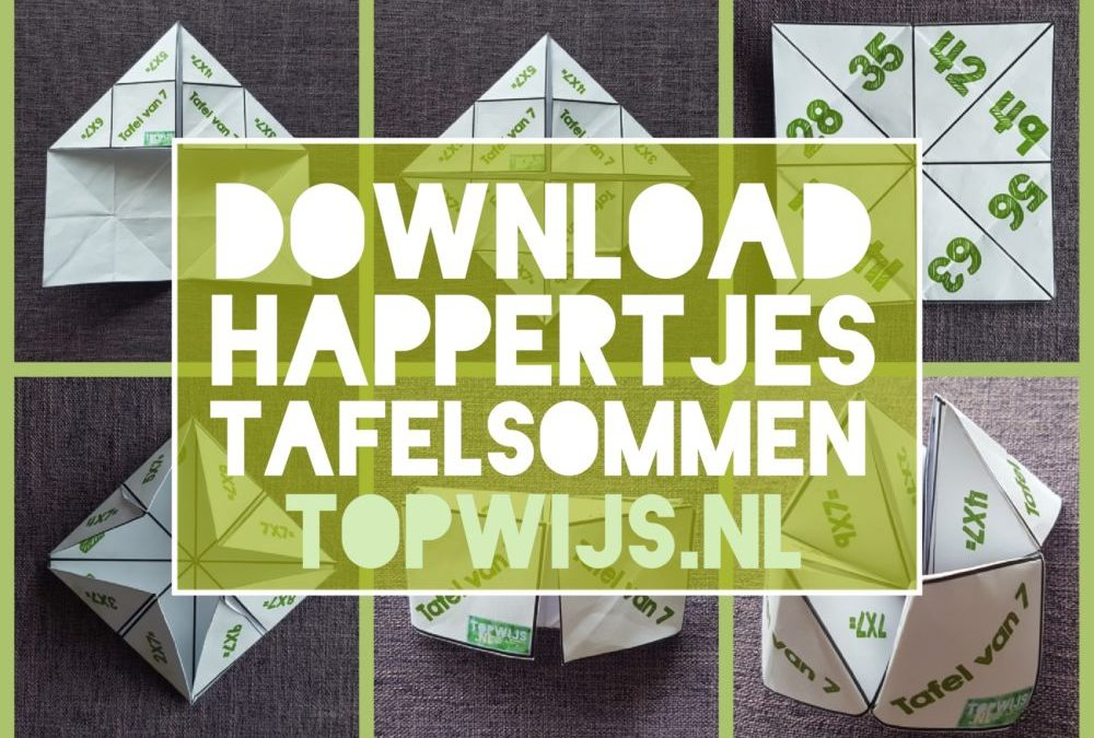 Happertjes tafelsommen downloaden