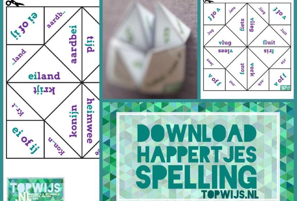 Happertjes spelling downloaden