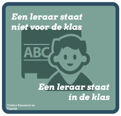een leraar staat in de klas www.topwijs.nl