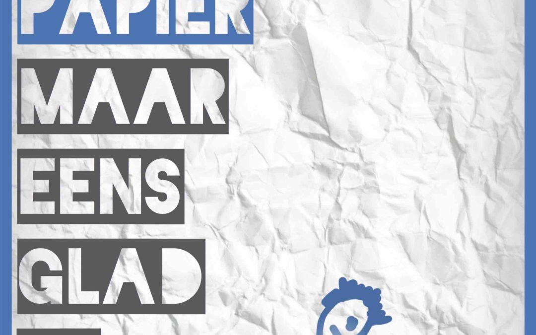 Lesomschrijving Pesten verkreukeld papier