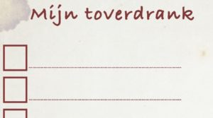 Download werkblad: recept voor toverdrank of heksensoep