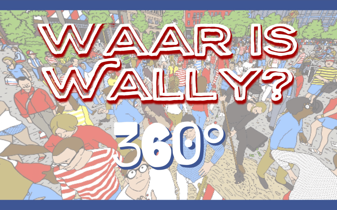 Waar is Wally 360 QR-Code