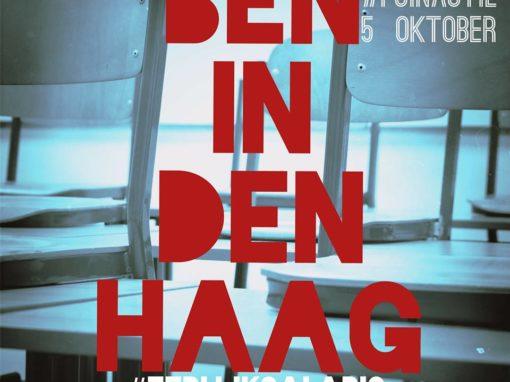 #POinactie 5 oktober staking Basisonderwijs