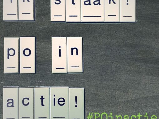 #POinactie 12 september staking Basisonderwijs