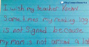 """""""I wish my teacher knew"""" Startopdracht: Ik zou willen dat mijn leerkracht wist dat..."""