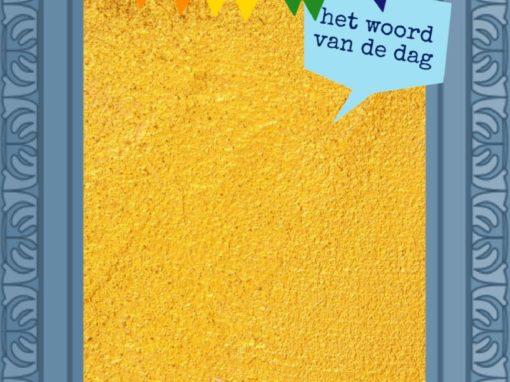 Woordenschat: woord van de dag en zin van de dag