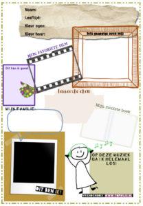 Download hier het vriendenboekje voor in je klas! Of gebruik het vriendenboekje als afscheidscadeau