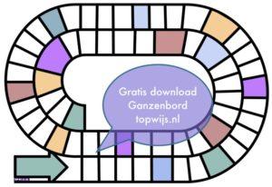 Gratis download: Ganzenbord leeg