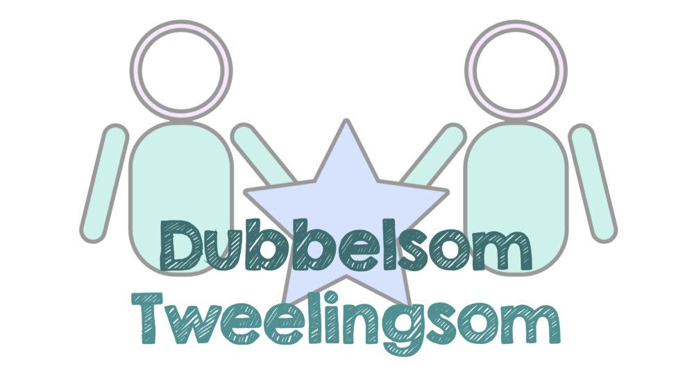 Download happertjes en werkbladen tweelingsommen / dubbelsommen